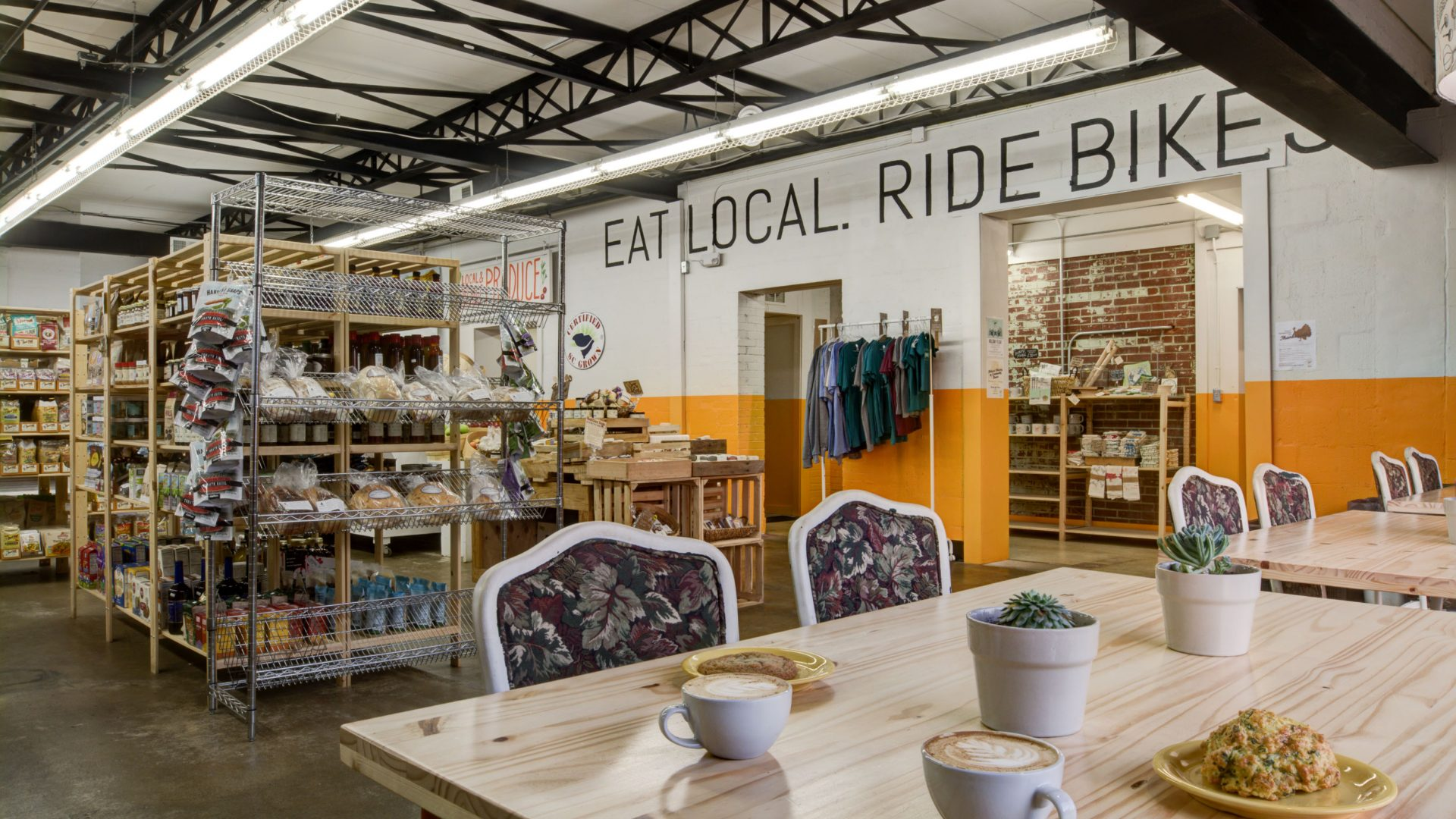 Swamp Rabbit Cafe & Grocery - Interior Photo