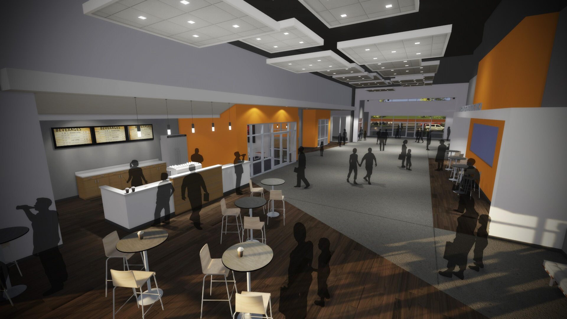 Generation Church - Interior Rendering