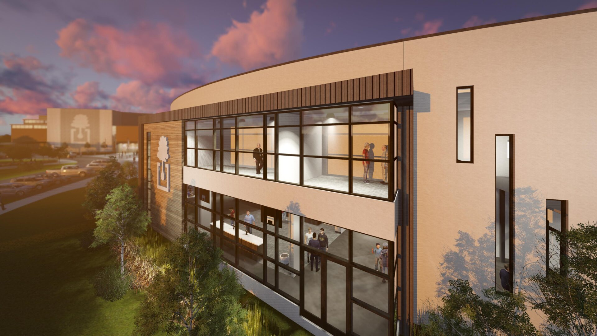 The Oaks Fellowship - Exterior Rendering