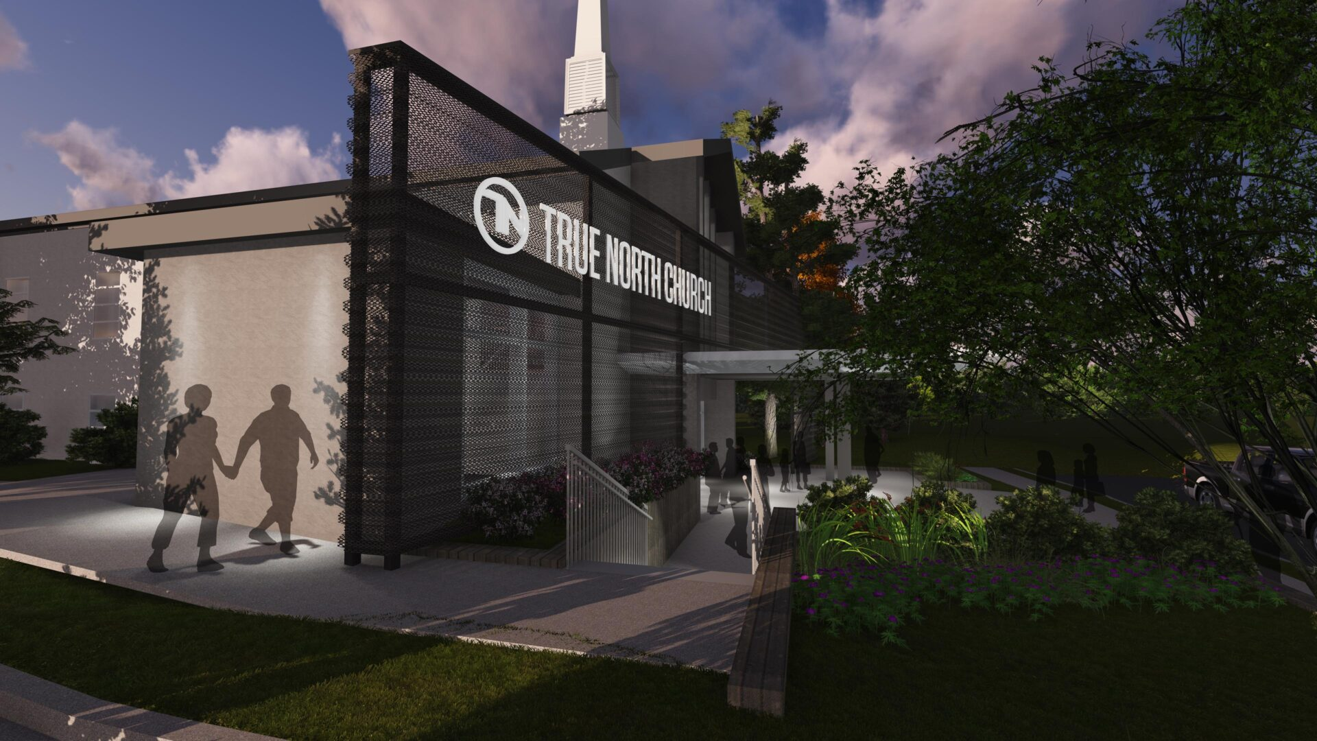 True North Church - Haddon Campus - Exterior Rendering